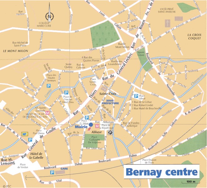 Restarant le dattier situation g ographique - Office de tourisme bernay ...